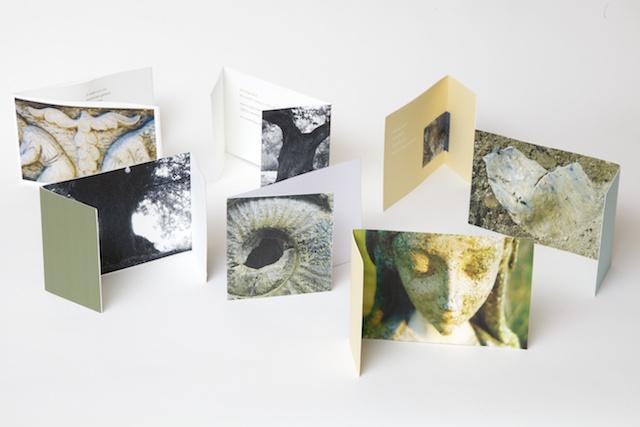 Geschenken van de stilte: 7 ansichtkaarten Caroline Schroder & Anne Possel